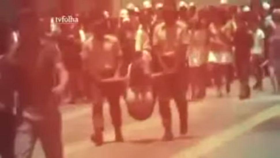 Encontrado vídeo de tortura de indígena em pau-de-arara ao vivo em desfile da ditadura militar