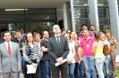 Manifestação de magistrados no Fórum de Itápolis